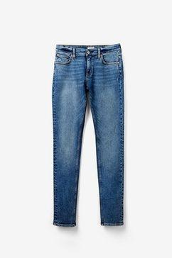q-s designed by catie straight: klassieke blue jeans blauw