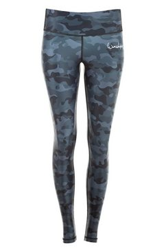 winshape legging »ael102-military blue« grijs