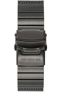 seven-24 automatisch horloge »seven-24 atom race dark mesh, sv1259jsq-05mm« grijs
