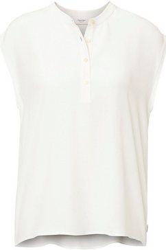 marc o'polo denim blouse zonder sluiting wit