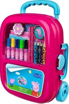 undercover tekensjabloon »trolley peppa pig« roze