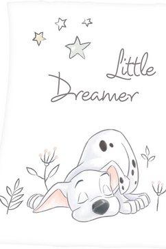walt disney babydeken »101 dalmatiner« wit
