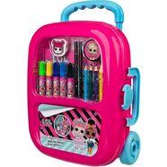 undercover tekensjabloon »trolley lol surprise« roze