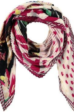gerry weber sjaal met motief »tuch mit patchmuster«
