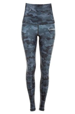 winshape legging »hwl102-military grey« grijs