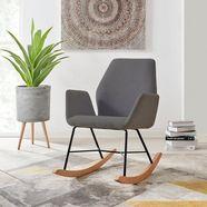 andas schommelstoel »cobo« grijs