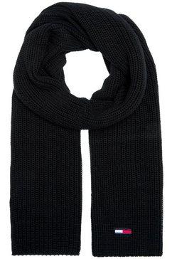 tommy jeans gebreide sjaal zwart