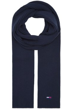 tommy jeans gebreide sjaal blauw