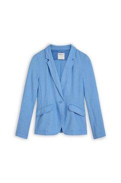 sandwich linnen blazer blauw