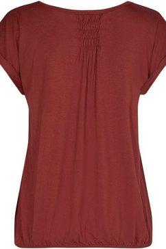 soyaconcept shirt met ronde hals »sc-marcia56« rood