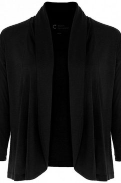 opus shirtjasje »daily c« zwart