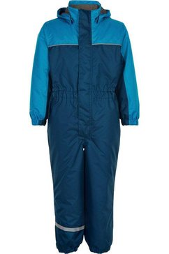 color kids ski-overall blauw