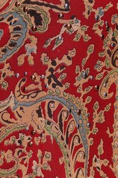 bruno banani gedessineerde blouse rood