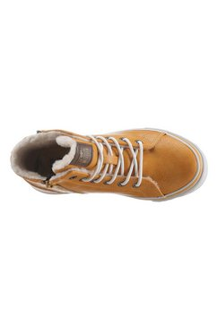 mustang shoes winterlaarzen geel