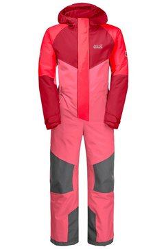 jack wolfskin ski-overall great snow snowsuit kids roze