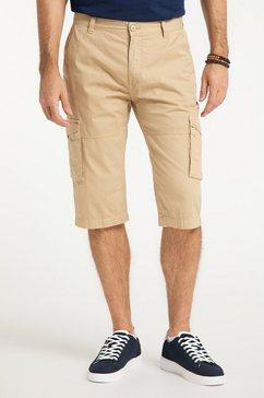 pioneer authentic jeans short »3 quarter cargo modern fit« bruin