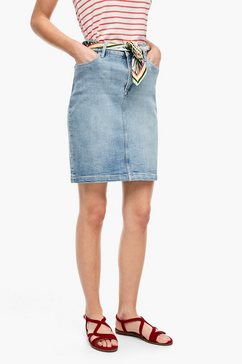 s.oliver jeansrok blauw