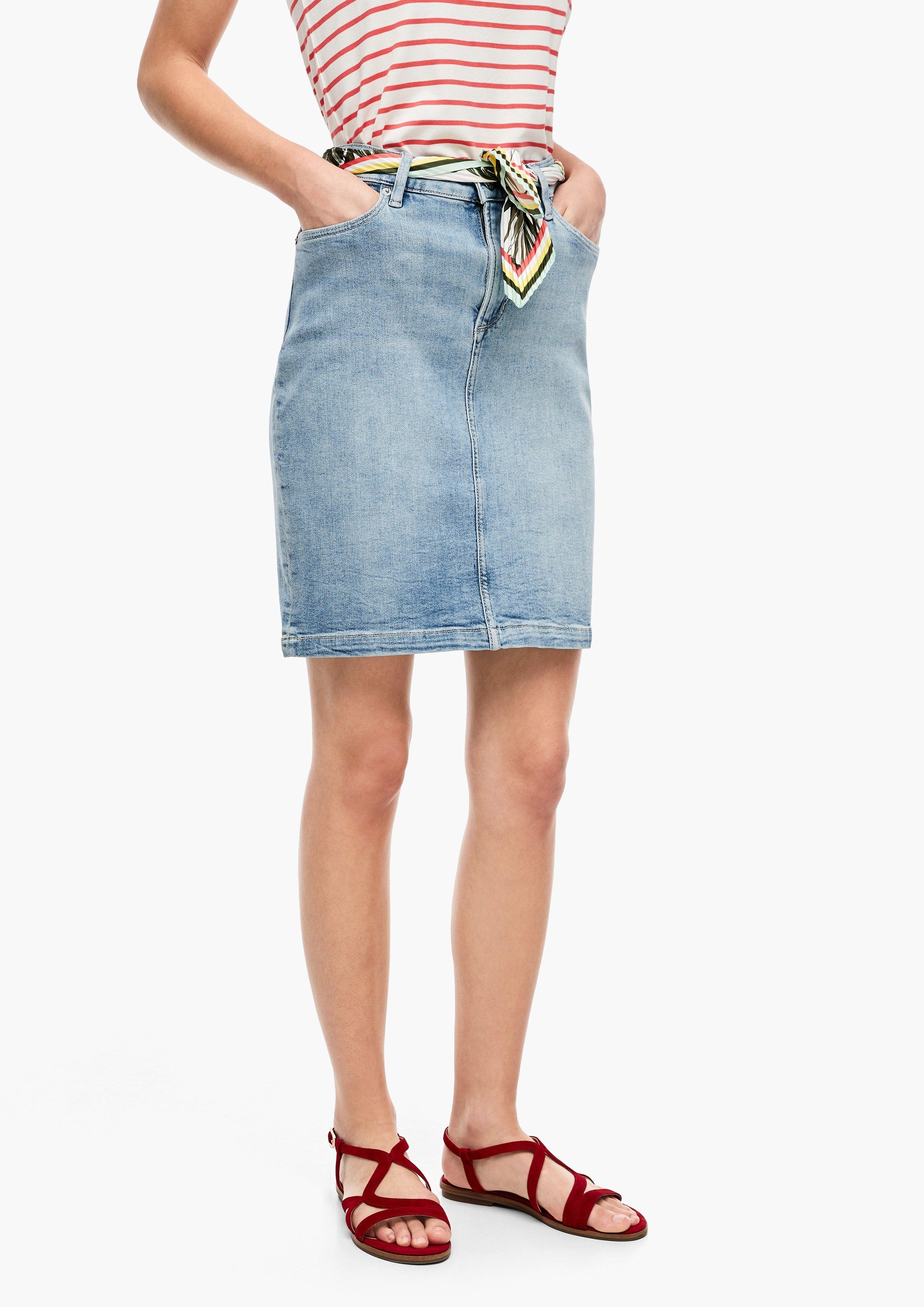 s.Oliver s.Oliver jeansrok bij OTTO online kopen