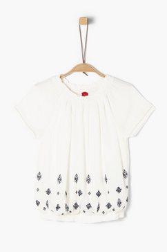 s.oliver blouse met korte mouwen_voor meisjes beige
