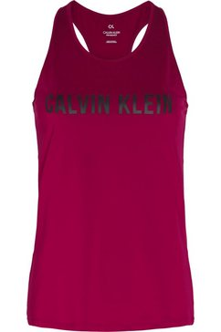 calvin klein performance sporttop »tank tops« roze