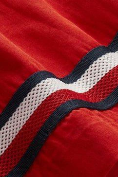 tommy hilfiger skaterjurk »global stripe tape« rood