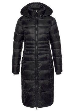 kangaroos doorgestikte jas zwart