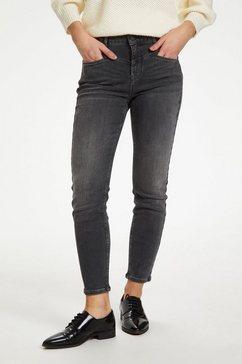 kaffe 7-8-broek »kahadley denim jeans« zwart