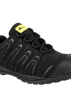 amblers safety werkschoenen »unisex fs40c non-metall safety sneaker« zwart