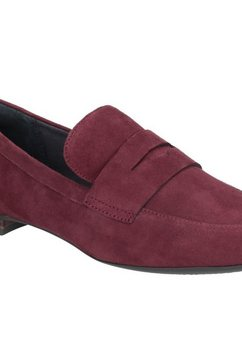 rockport loafers »damen wildleder total motion tavia penny« bruin