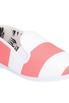 flossy instappers »damen urpia slip on schuh« rood