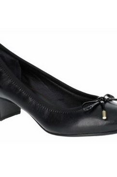 rockport pumps »damen total motion gitty luxe masche« zwart