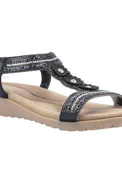 fleet  foster sandaaltjes »damen tabitha slip on sandale« zwart