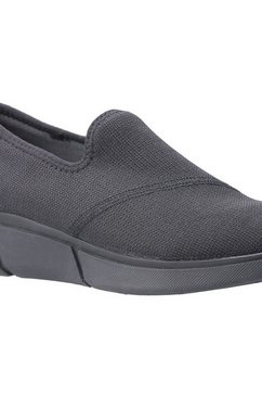 hush puppies instappers »damen makenna slip on schuh« zwart