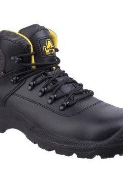 amblers safety werkschoenen »safety herren fs220 wasserfeste safety stiefel« zwart
