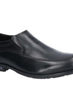 rockport instappers »herren dustyn slip on lederschuh« zwart