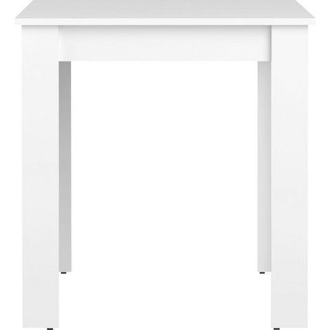Eetkamertafel Batsto wit 73,4x110x70 cm