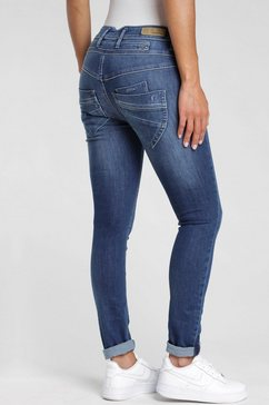 gang skinny fit jeans »marge« blauw