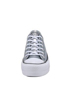 converse plateausneakers »chuck taylor all star lift ox« zilver