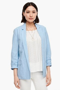 s.oliver blazer blauw