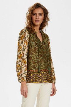 cream gedessineerde blouse »emmeliecr« groen
