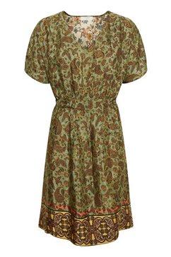 cream gedessineerde jurk »emmeliecr« groen