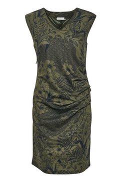 kaffe gedessineerde jurk »kamonna india« groen