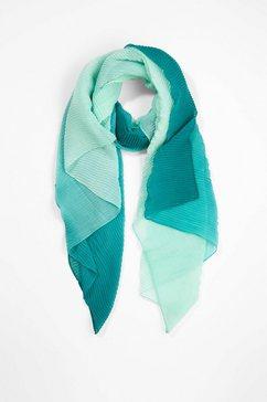 s.oliver black label sjaal met motief blauw