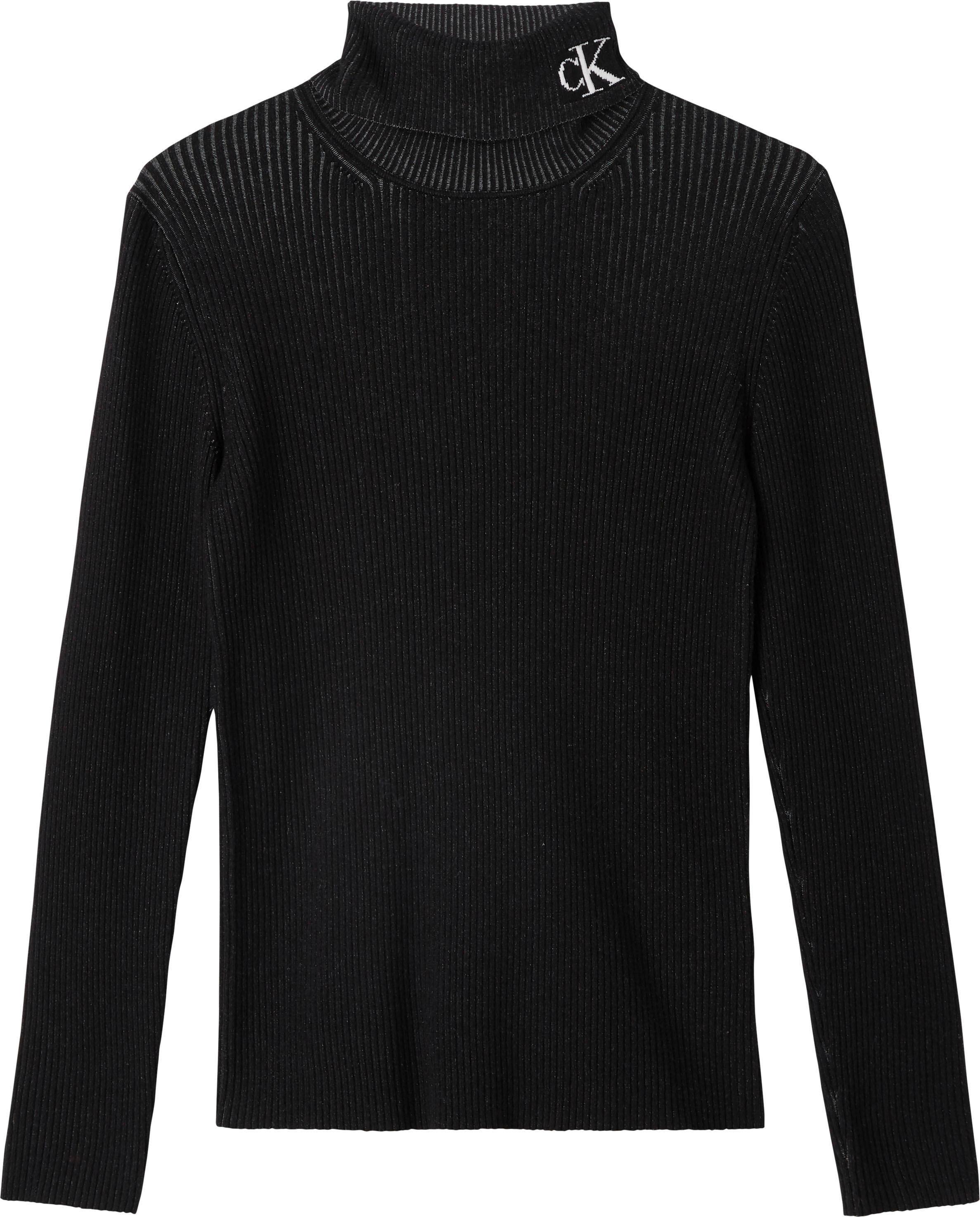 Calvin Klein coltrui »RIB ROLL NECK WITH CK« nu online kopen bij OTTO