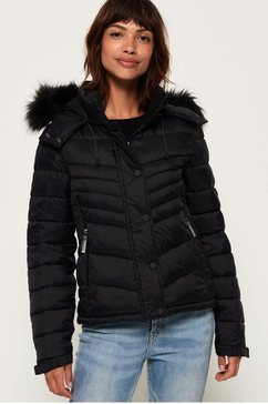 superdry functioneel 3-in-1-jack »fuji slim 3 in 1 jacket« zwart