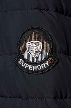 superdry outdoorjack »super fuji jacket« blauw