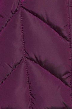 superdry winterjack »luxe fuji padded jacket« paars