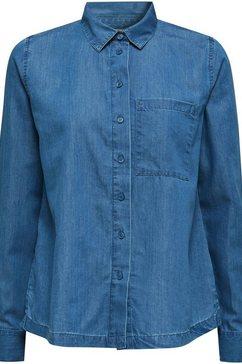 esprit jeansblouse blauw
