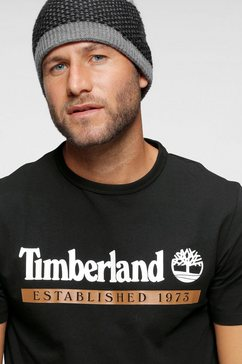 timberland t-shirt zwart