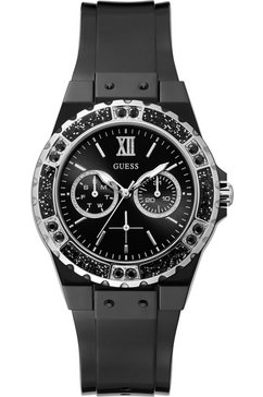 guess multifunctioneel horloge »limelight, gw0041l5« zwart